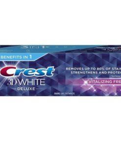CREST Toothpaste 3D White Deluxe Vitalizing Fresh 75 ml