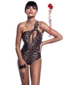 Sexy leopard one piece