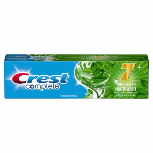 CREST Complete 7 Toothpaste + Mouthwash Natural Fresh 100 ml, Mint & Thyme