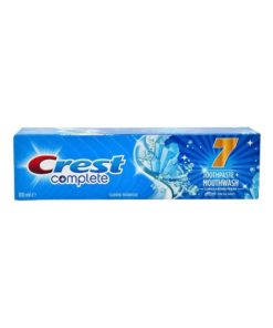 CREST Complete 7 Toothpaste + Mouthwash Long Lasting Fresh 100 ml, Fresh Mint