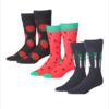 Colorful Patterned Dress Socks