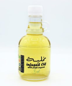 Infused Oil with Basil