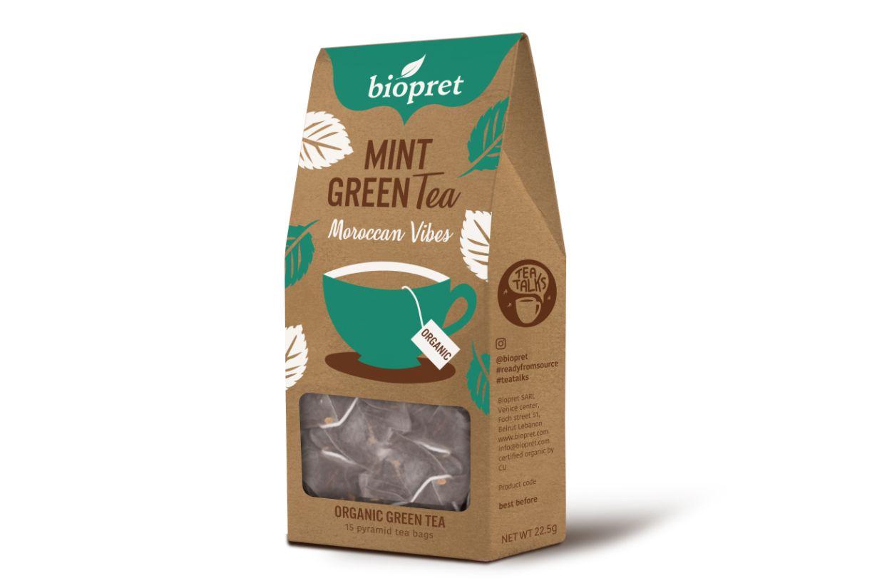 BIOPRET Mint Green Tea