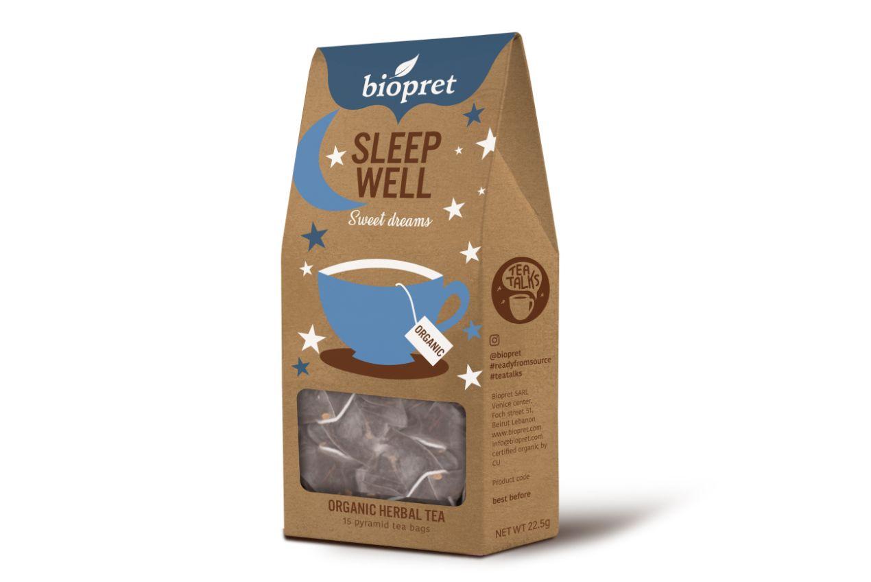 BIOPRET Sleep Well Tea