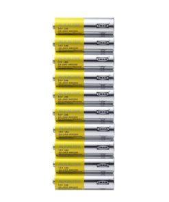 ALKALISK 10 Pieces Battery LR6 AA 1.5V