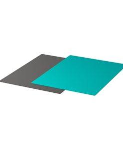 FINFÖRDELA 2 Pieces Bendable Chopping Board Dark grey & Dark Turquoise 28 x 36 cm