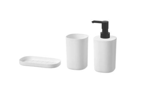 STORAVAN 3 Piece White Bathroom Set