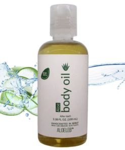 Aloe body oil