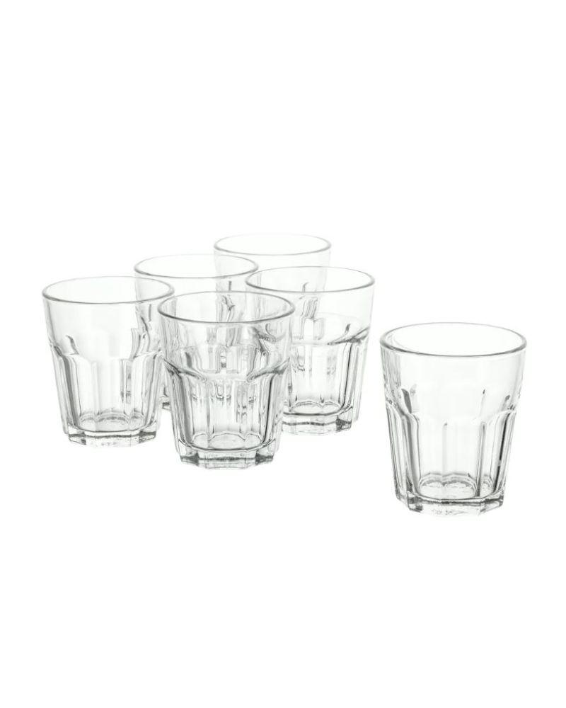 POKAL Clear Glass 6 Pieces 27 cl