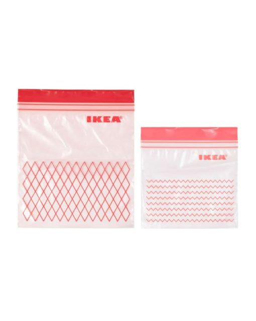 ISTAD Resealable Bag Red