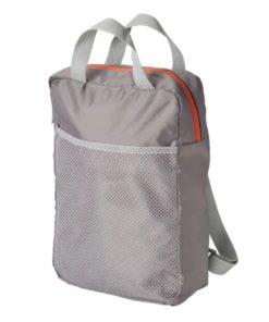 PIVRING Backpack Light Grey 24x8x34 cm/9 L