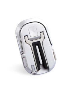 Universal Car Ring Upgraded Mobile Phone Holder - Silver