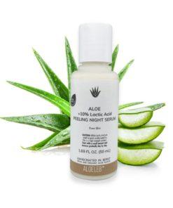 ALOELEB Even-Skin Aloe 10% Lactic Acid Peeling Night Serum