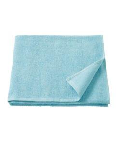 IKEA KORNAN Bath Towel Light Blue 70x140 cm