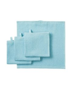 IKEA KORNAN Washcloth Light Blue 30x30 cm